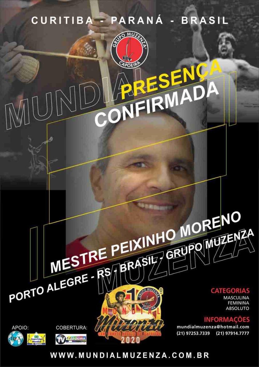 Mestre Peixinho Moreno