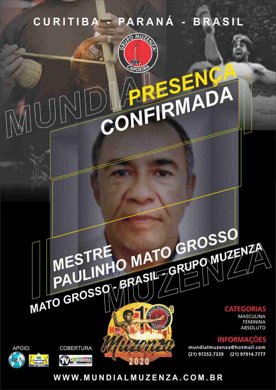 Mestre Paulinho Mato Grosso
